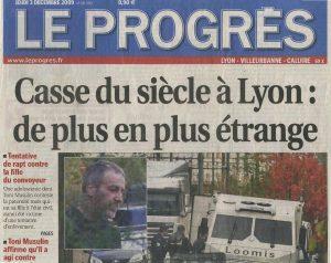 03-12-2009 Le Progres Page 1