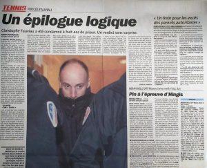 10-03-2006 L'Equipe Affaire Fauviau