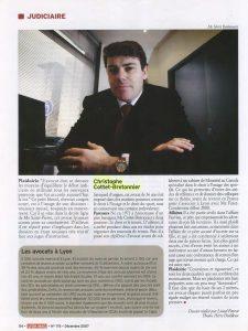 12-2007 Lyon Mag Page 5